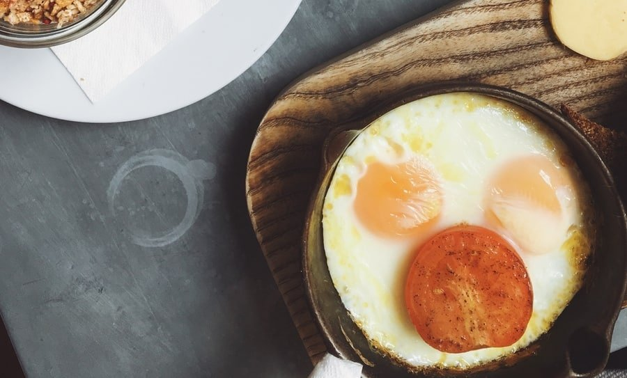 low carb budget breakfast egg