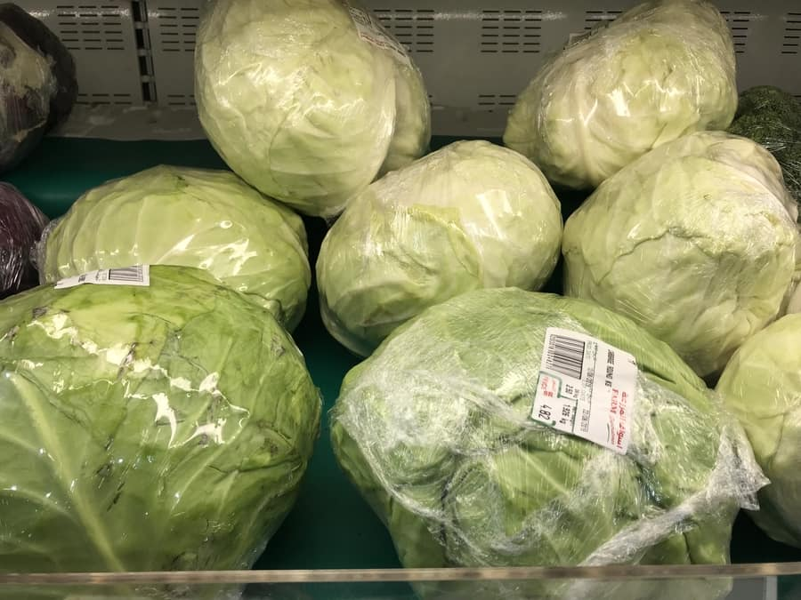 cabbage carbs