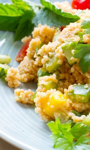 carbs in couscous