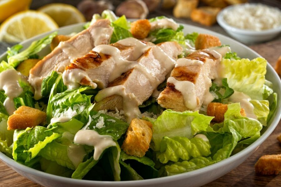 chicken caesar salad dressing