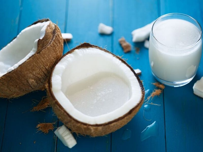 coconut milk is low carb