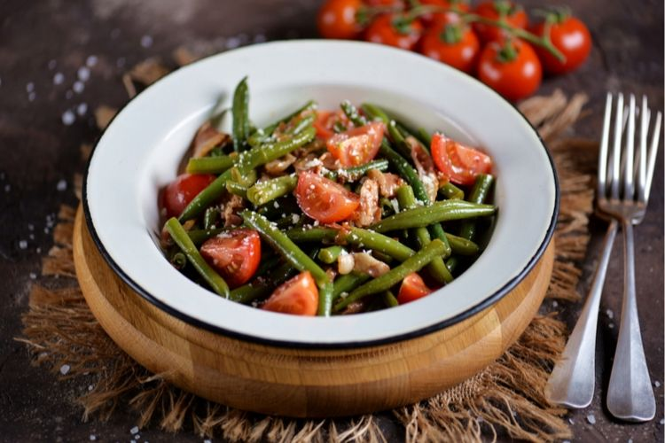 carbs in green beans