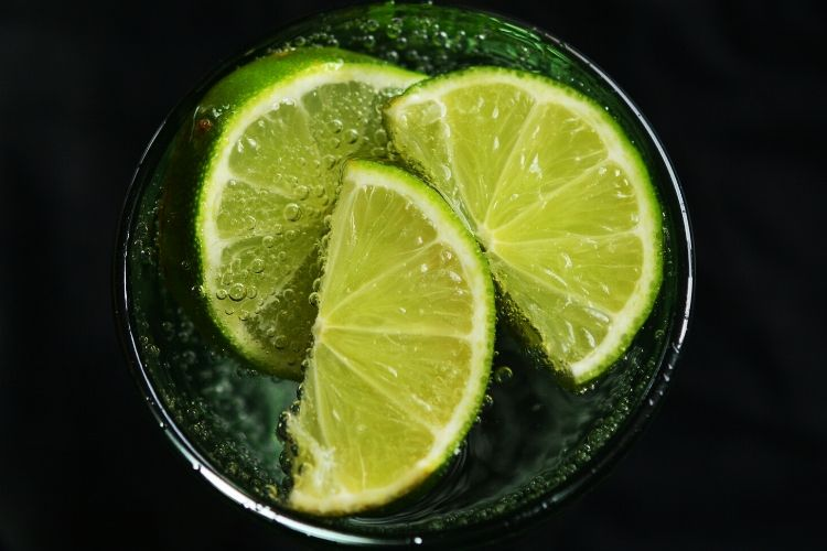 carbs green lemon