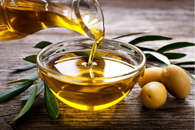 olives carbs oil