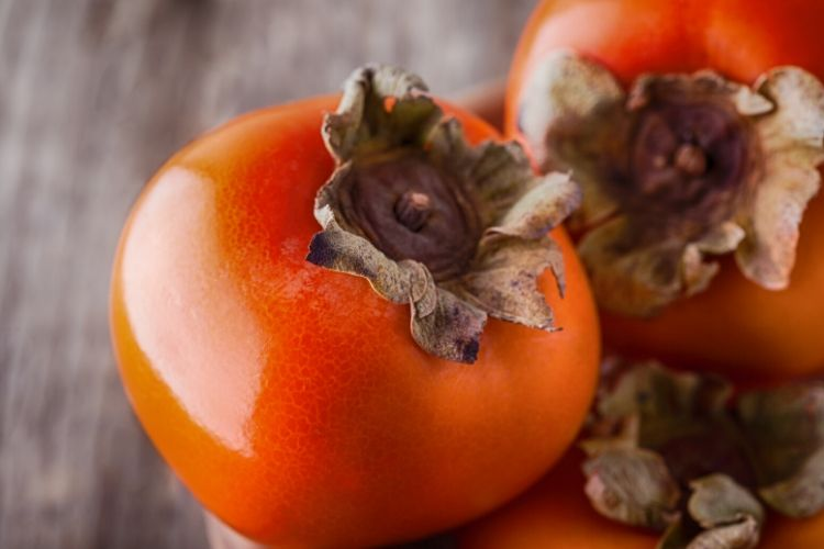 persimmons carbs
