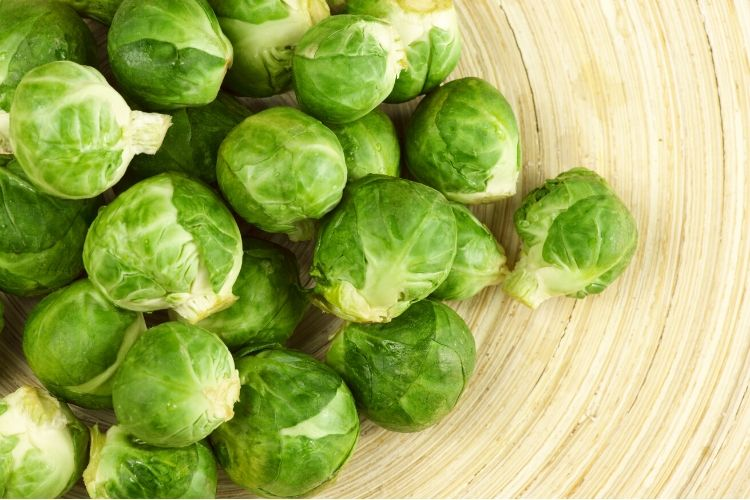 brussel sprouts carbs