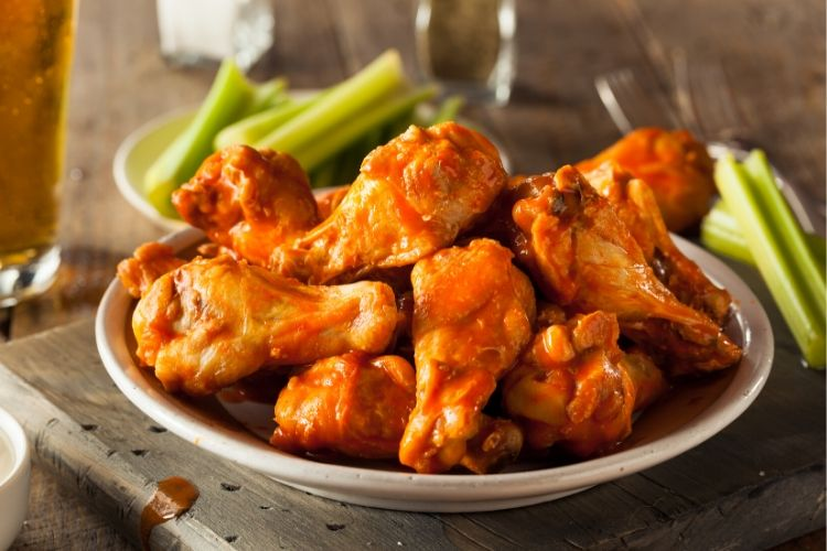 buffalo wings keto