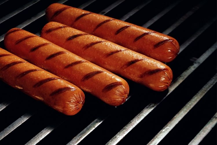 hot dogs carbs