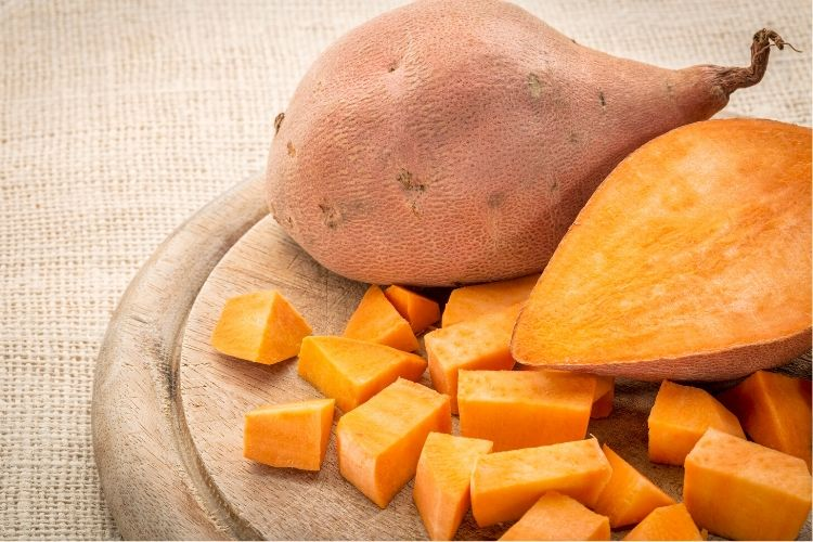sweet potatoes calories