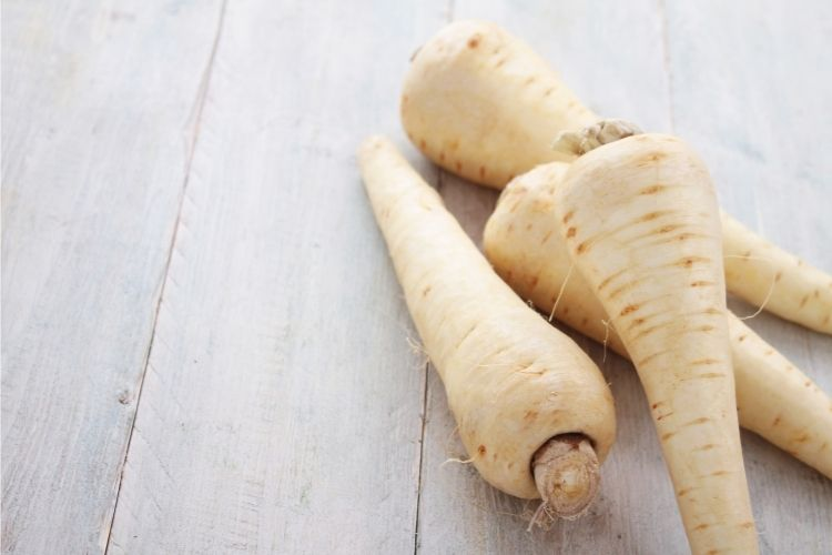 carbs in parsnips